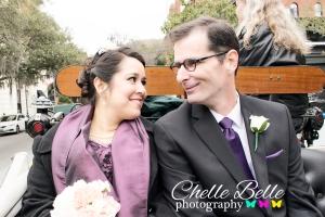 Savannah, Georgia Dr. and Mrs. Magnet Wedding